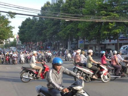 Saigon_Straßenverkehr